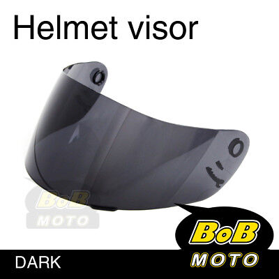Dark Tinted Shield Helmet Visor Fit Shoei Multitec X-Eleven RAID 2 II TZ-R