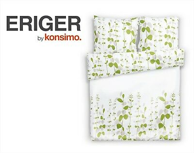 KONSIMO - ERIGER Bettwäsche Set Bettgarnitur 200x220/ 2* 70x80 100% Mikrofaser!!