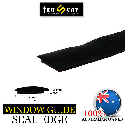 Car Ute Window Sunroof Edge Protection Rubber Seal Strip Self-adhesive 6 Meters