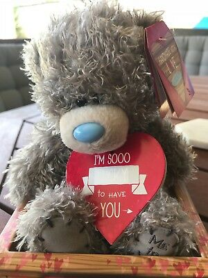 Me to You Tiny Taddy Bear - 'Im So Lucky To Have You Heart' Love/anniversary