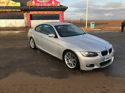 BMW 3 Series 320I M Sport 2.0 2dr titan silver Full MOT excellent condition