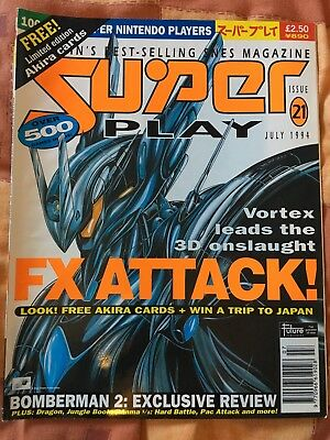 Super Play Issue 21 - SNES Magazine - Nintendo July 1994 - Vintage Retro Gaming