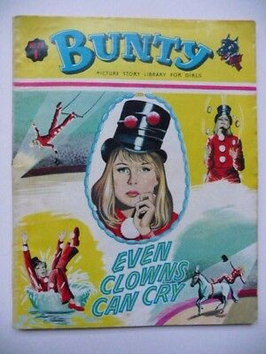 Rare Collectible Bunty Picture Story Library For Girls No.79 'Even Clowns Cry'