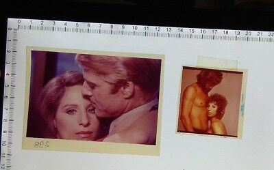 lot 2 Barbra Streisand with Kris Kristofferson Robert Redford promo slides