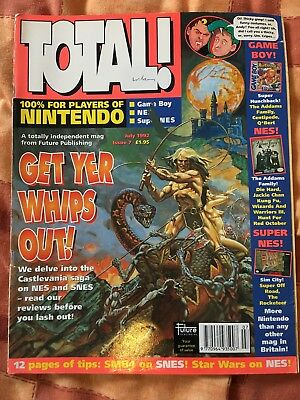 Total! Issue 7 - Nintendo Magazine - July 1992 - Vintage Retro Gaming