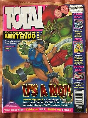 Total! Issue 8 - Nintendo Magazine - August 1992 - Vintage Retro Gaming