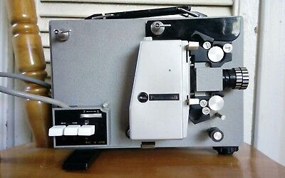 Peerless 8 Vintage Film 8mm Movie Projector Working Great Condition