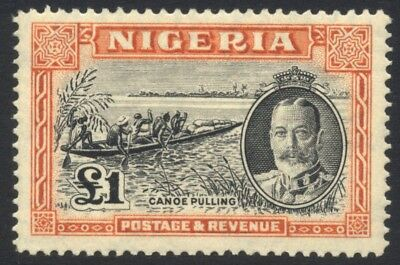 Nigeria 1936 £1 MINT Never Hinged SG 45 Cat £130