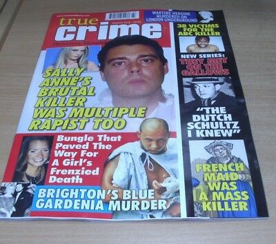 True Crime Detective Monthly magazine MAR 2018: 38 Victims for ABC Killer & more