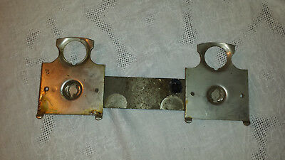 Pre-owned Double Bar Top Plate Part VTG FORD Gumball Machines Fit Single Stand