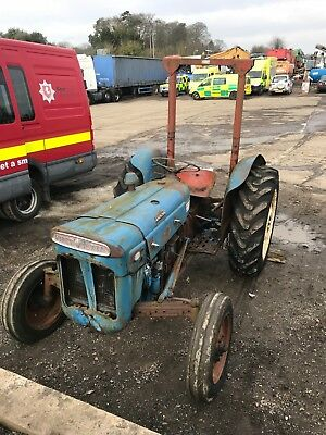 1960 Ford Super Dexta Tractor Great Project