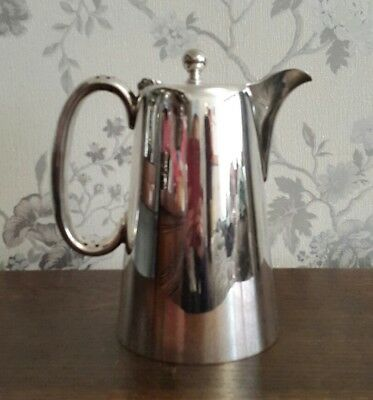 A Vintage Silver Plated Coffee Pot, Hotel Ware, Martin Hall & Co