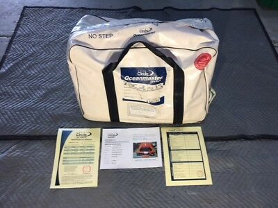 Great Circle Oceanmaster 4 person Life Raft in valise.