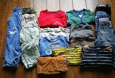 Boys 6-9 months baby large bundle clothes Winter/Spring some Next jeans tops
