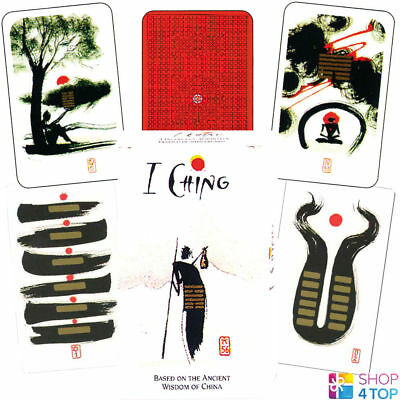 I Ching By Klaus Holitzka Oracle Deck Cards Esoteric Fortune Telling Agm New