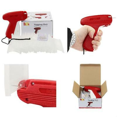 Fine Tagging Gun Price Tag Attacher New Upgrade for Clothing with 6 Needls Red