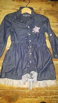 guess robe jeans fille 2 ans neuf