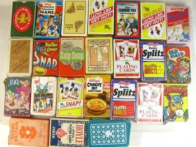 28160 Old Antique Vintage Playing Cards Pack Game Collection Retro Kitch Advert