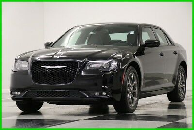 2016 Chrysler 300 Series S Heated Leather Camera Gloss Black Sedan For Sale 2016 S Heated Leather Camera Gloss Black Sedan For Sale Used 3.6L V6 24V AWD