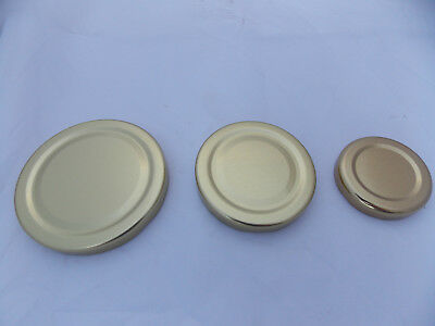 Jar Lids ideal for Jam Makers or Crafters