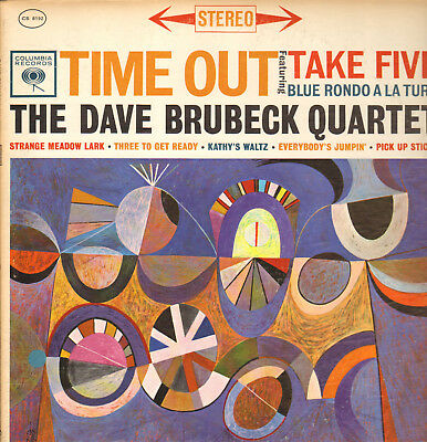 Dave Brubeck Quartet-Lp- Time Out-F. Take Five- Columbia-Stereo-Usa-