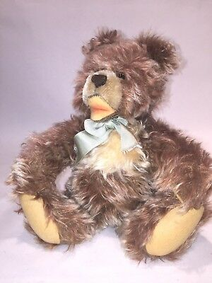 Vintage Steiff Zotty Teddy Bear, Jointed, 11 in., 1950s