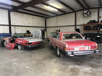1976 Mercedes-Benz SL-Class 450SL project with parts car 1976 Mercedes-Benz 450SL