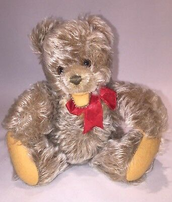 Vintage Steiff Zotty Teddy Bear, Jointed, 8 in., 1950s