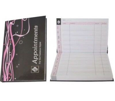 A5 Mobile Freelance Appointment Book NEW Hairdressing Beauty Manicure Spay Tan