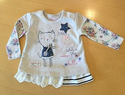 Baby Girls Top Tunic Top Age 6-9 Months NEXT