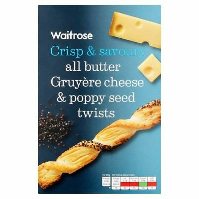 Waitrose Cheese Pop Twists 125g
