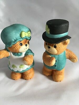 VTG Lucy Rigg Enesco Bears - 2 Irish Dancers 3.5 inches tall with NO BOX