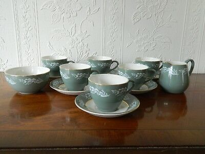 Lord Nelson  14 Piece 6 Coffee Cups & Saucers + Milk & Sugar