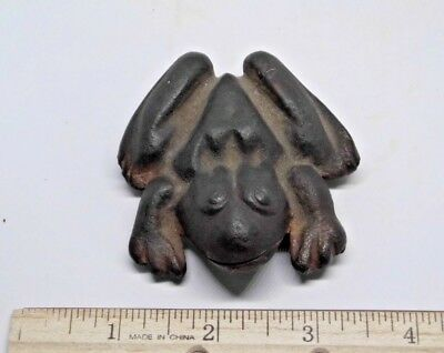 Vintage Anatomically Correct Erotic Male Naughty Cast Iron Frog