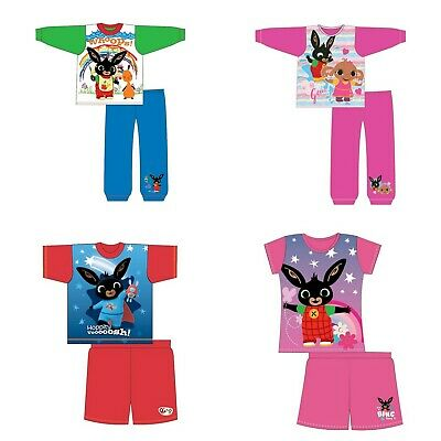 Boys Girls Kids Baby Toddler CBeebies Bing Pyjamas pjs Age 1-5 Years