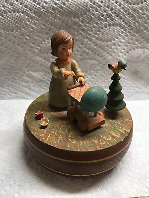 Antique brahms lullaby Swiss Made Vintage-Rare
