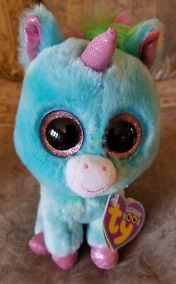 Ty Beanie Boos - TREASURE - Justice Stores exclusive unicorn with mint tags