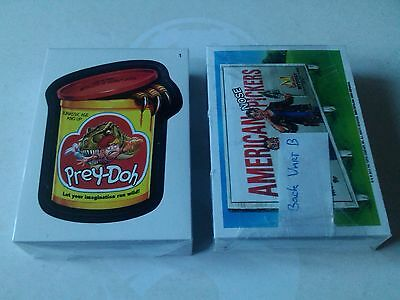 Wacky Packages All New Series 11 Complete 55 Sticker Set Variation B Topps 2013
