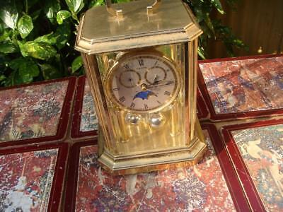 Hermle   Anniversary  Mantle Clock battery Operated