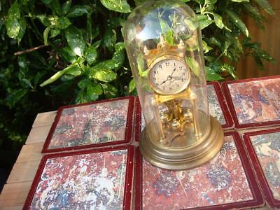 Anniversary  Mantle Clock  Needs Suspension Spring For Spare Or Repair