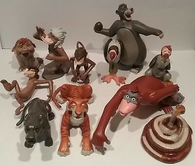 Disney Store The Jungle Book Figures Set Rare Baloo Bagheera King Louie Etc
