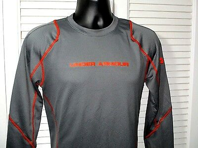 NWOT~Under Armour Cold Gear Fitted Long Sleeve Base Layer Workout Shirt~Men's M