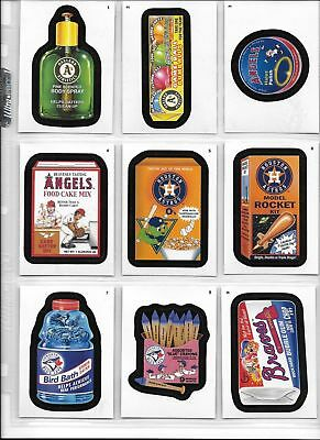 Wacky Packages Baseball 2016 Series 90 Card Complete Set Topps 2016