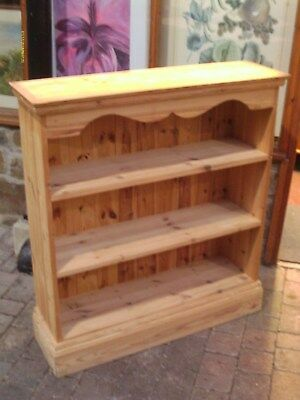 antique pine bookshelves