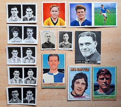 Footballers Cards A & BC Topical Times D C Thomson Scottish English 1922 – 1969