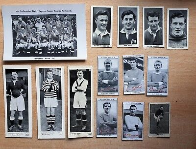 Footballers Trade Cards Typhoo Tea Topical Times Scottish Daily Express Smashers