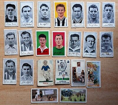 Famous Footballers Barratt Trade Cards Donaldsons Torry Gillick's Scots etc