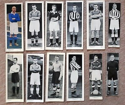 12 Topical Times Large Panel Portraits Scottish Footballers Hibernian Clyde etc