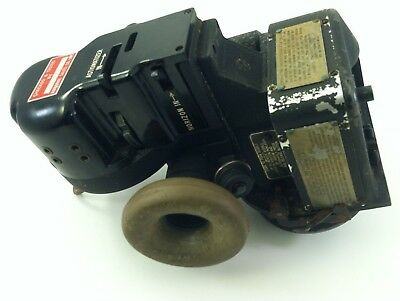 US Navy WW2 Bomber  Airplane Sextant Bubble Type Bendix-AN-5851-1 Military