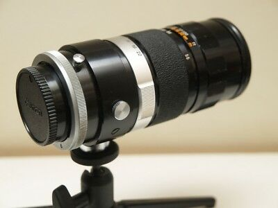 Canon FL/FD Mount 55-135mm MF Lens +3 Canon filters.
